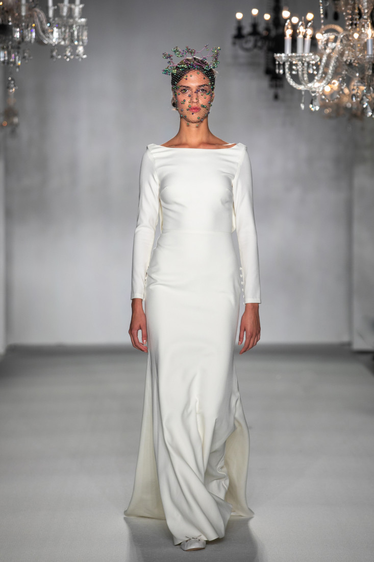 Anne Barge NYFW Bridal Fall 2020 photo by Collin Pierson 19