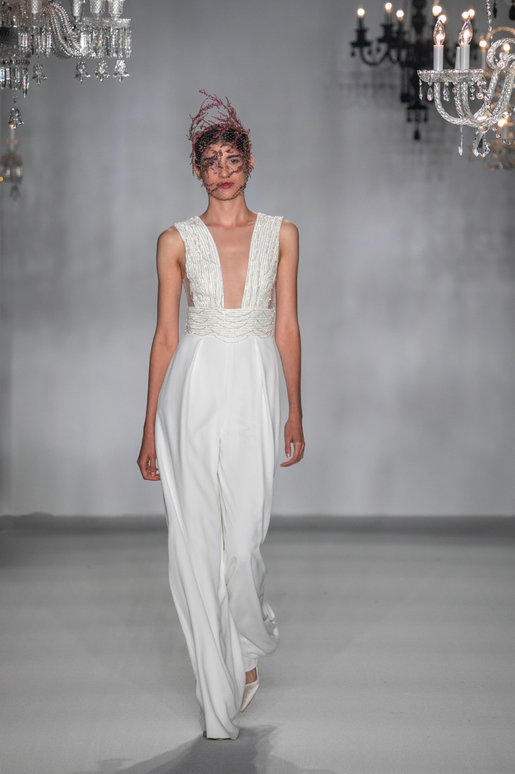 Anne Barge NYFW Bridal Fall 2020 photo by Collin Pierson 26