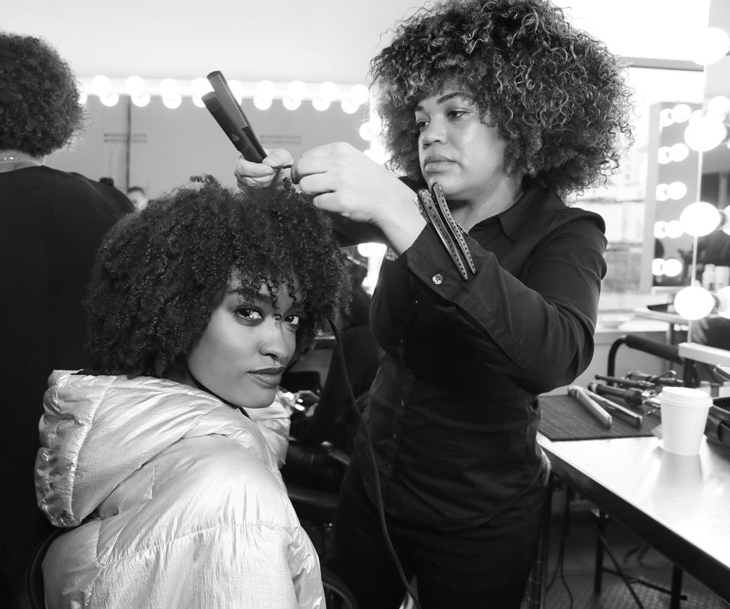 Backstage@Pamella Roland NYFW FW2020 photo by Cheryl Gorski 30