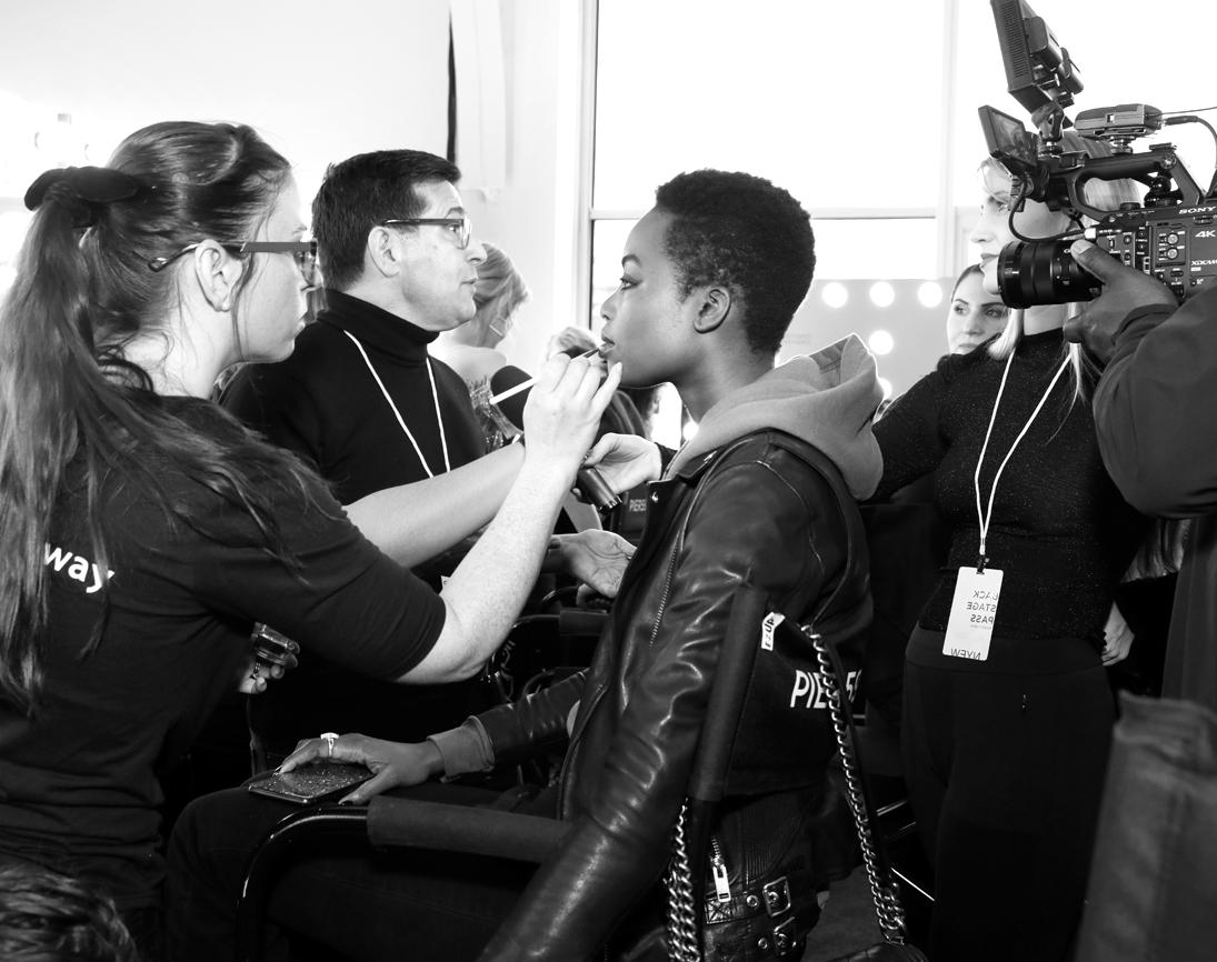Backstage@Pamella Roland NYFW FW2020 photo by Cheryl Gorski 7