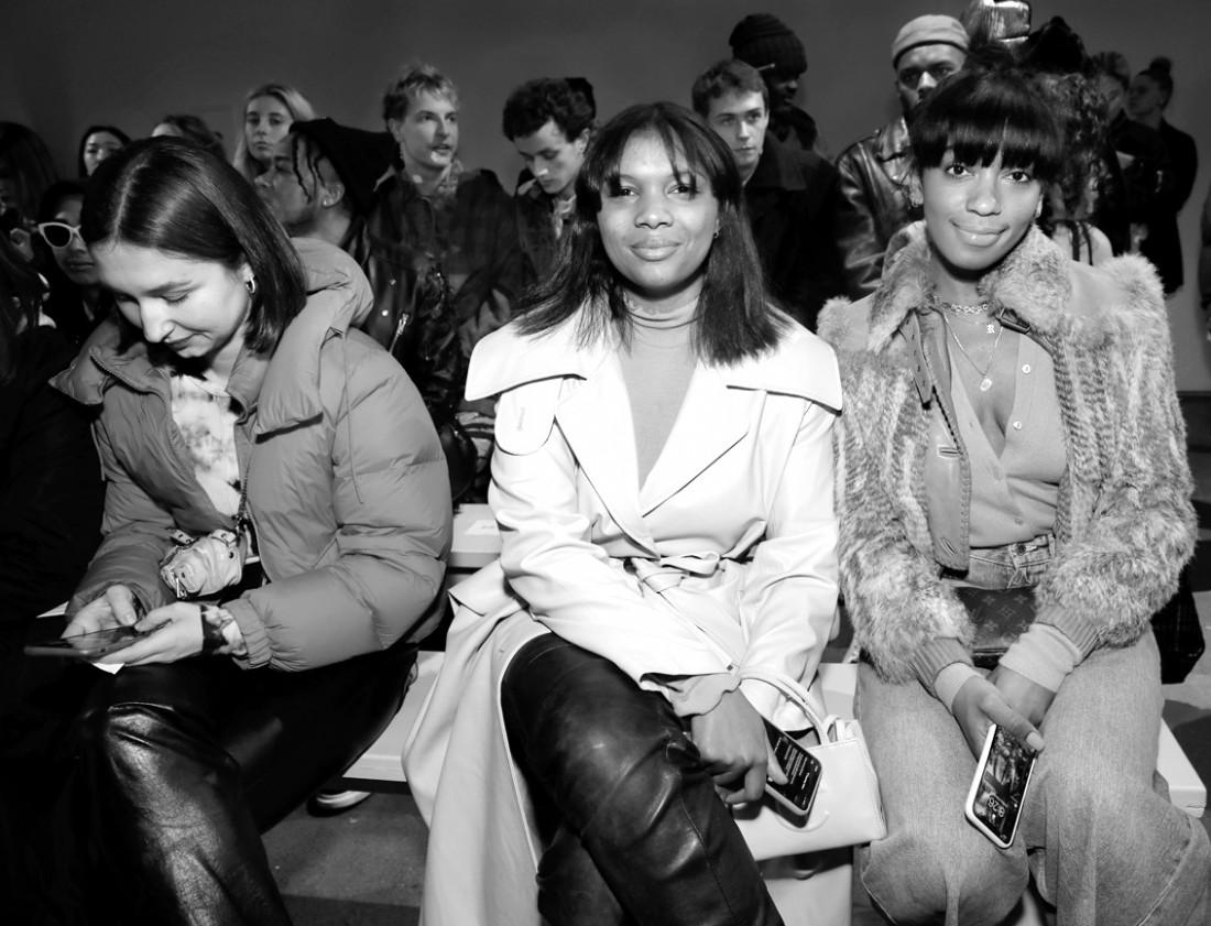 Front Row@ Kim Shui NYFW FW2020 photo by Cheryl Gorski 39