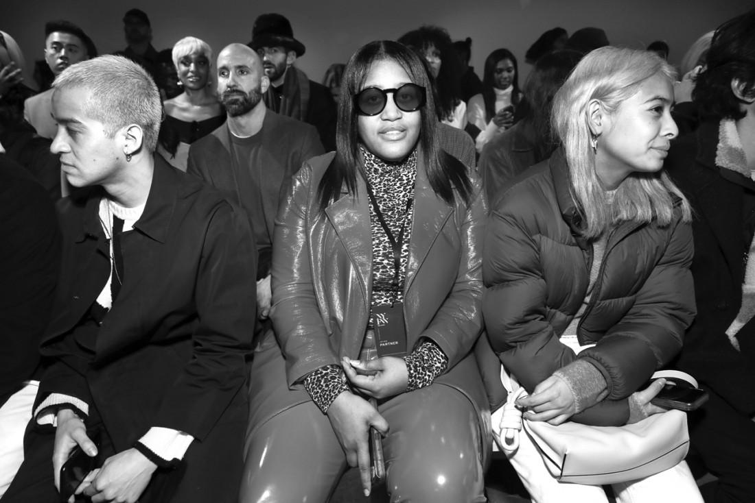 Front Row@ Kim Shui NYFW FW2020 photo by Cheryl Gorski 59