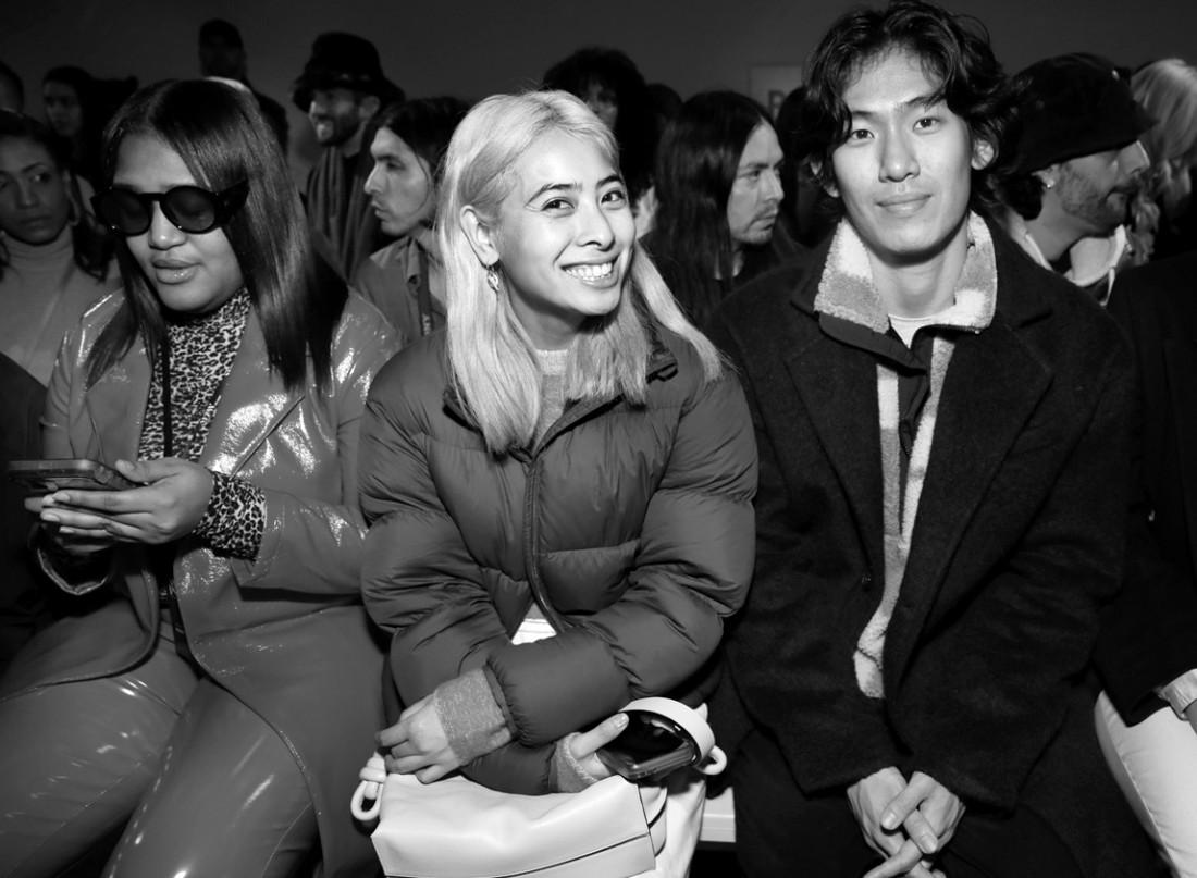 Front Row@ Kim Shui NYFW FW2020 photo by Cheryl Gorski 60