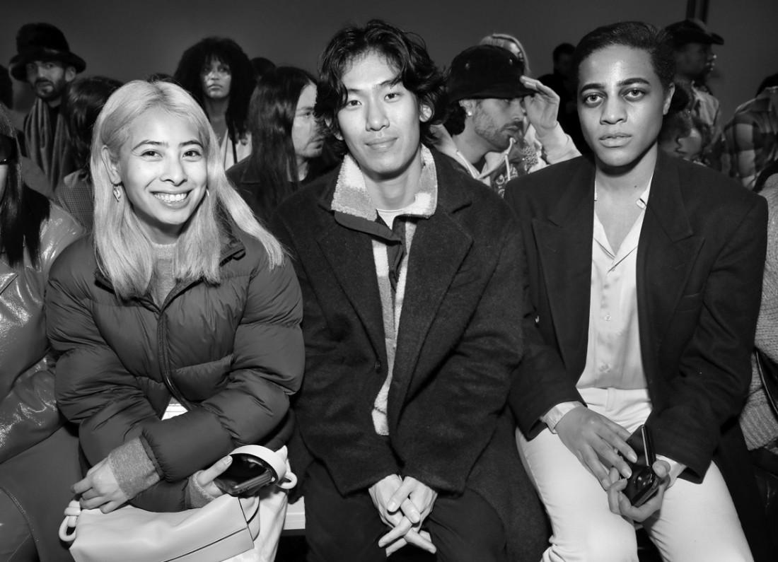 Front Row@ Kim Shui NYFW FW2020 photo by Cheryl Gorski 61