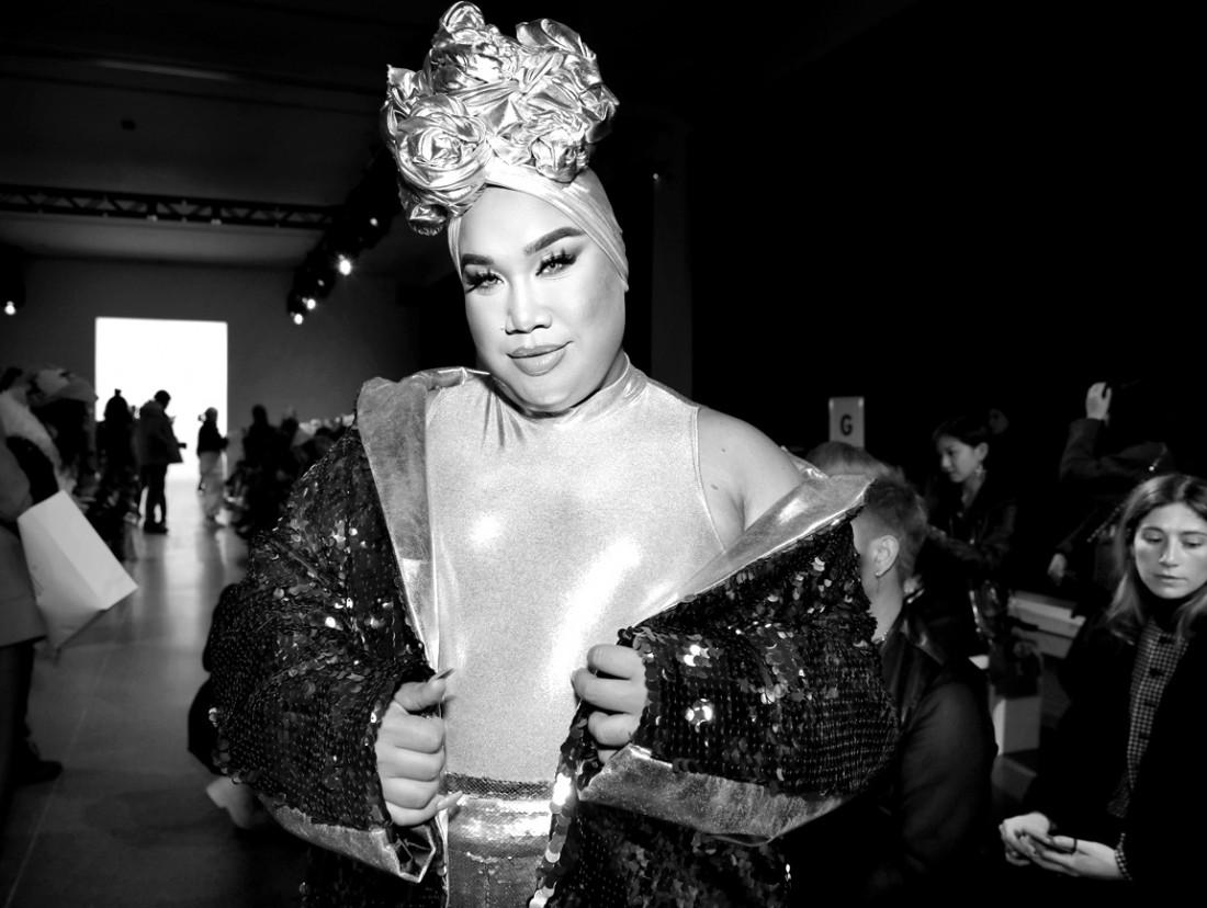 Patrick Starr @ Kim Shui NYFW FW2020 photo by Cheryl Gorski 3