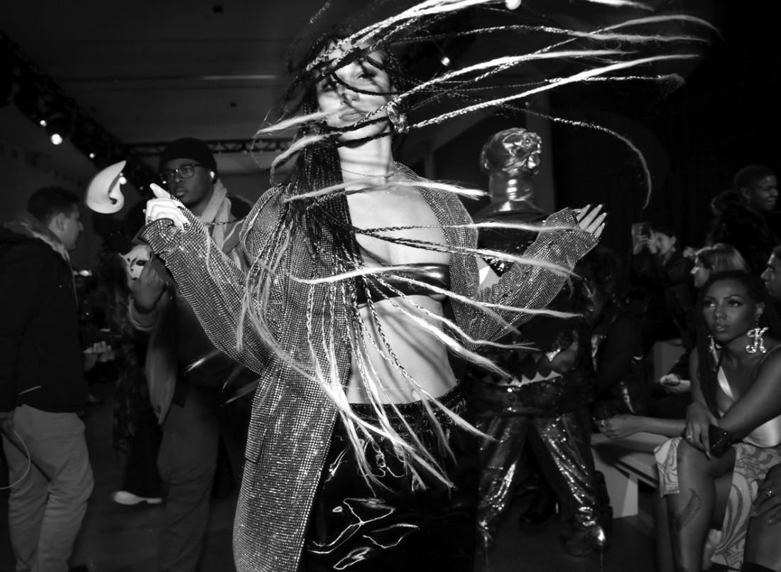 Renell Medrano@ Kim Shui NYFW FW2020 photo by Cheryl Gorski 5