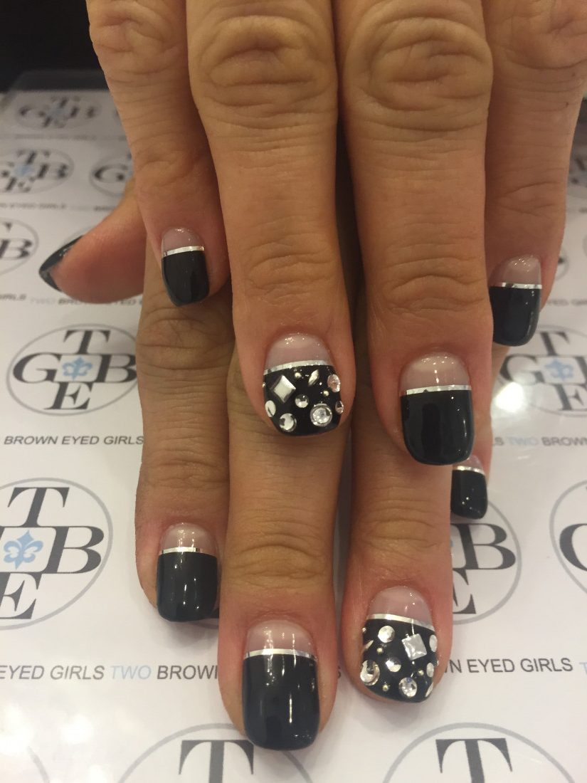 Two Brown Eyed Girls Nails
