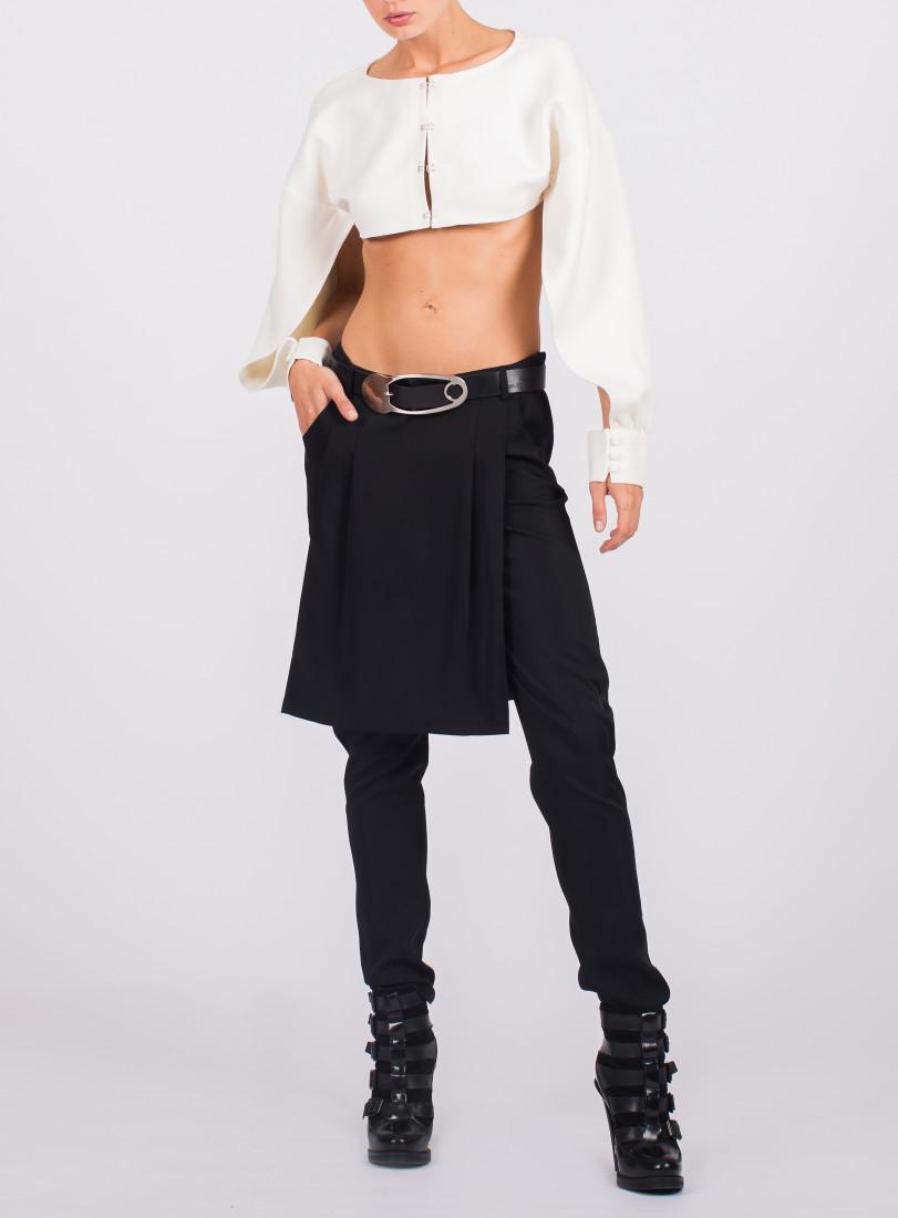 Pleat Front Skirt Trouser 2